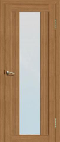 Дверь Двероникс 05, стекло матовое, цвет дуб сантьяго, остекленная
