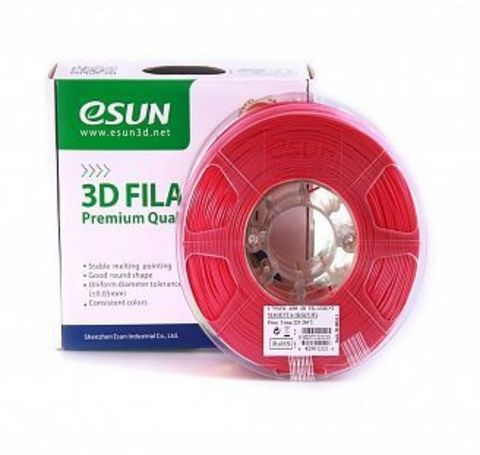 Пластик ABS ESUN 1.75 мм 1кг., пурпурно-красный (ABS175PP1)