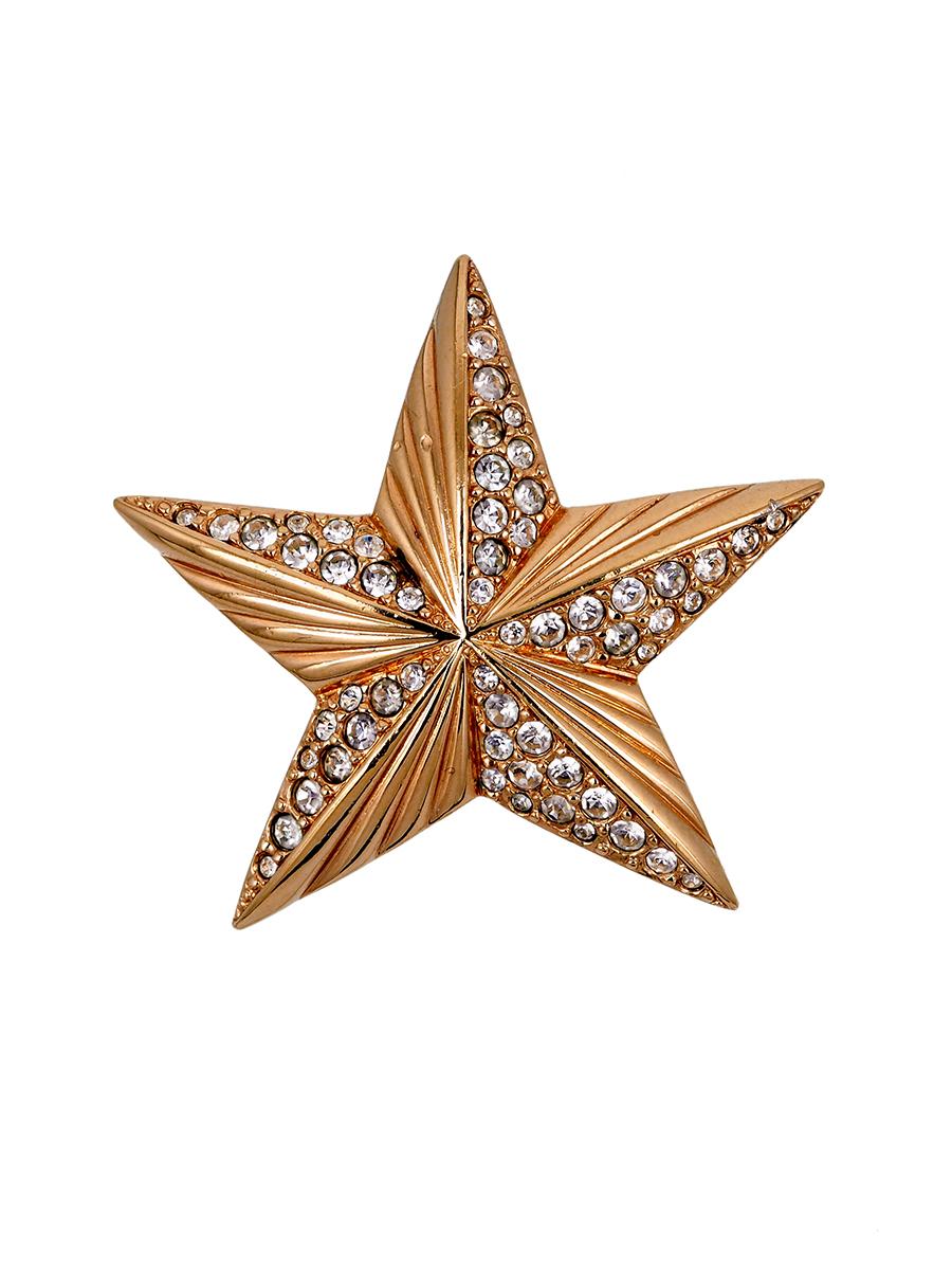 Невероятно милая брошь в виде звезды Swarovski 1980 г.