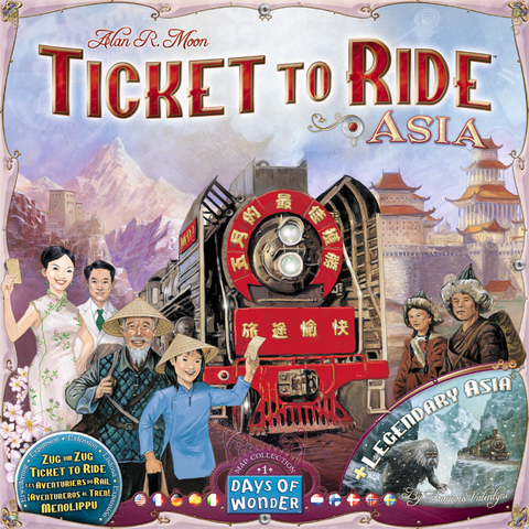 Ticket to Ride - Map Collection Vol. 1: Asia