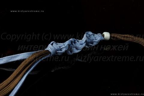Коричнево-сиреневый спиральный темпляк