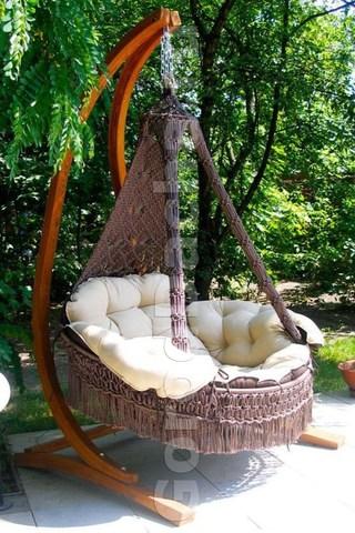 Подвесное кресло «CARTAGENA» на каркасе «КОРСА»