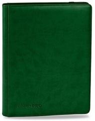 Ultra Pro - Зелёный альбом PREMIUM для хранения карт с листами 3*3