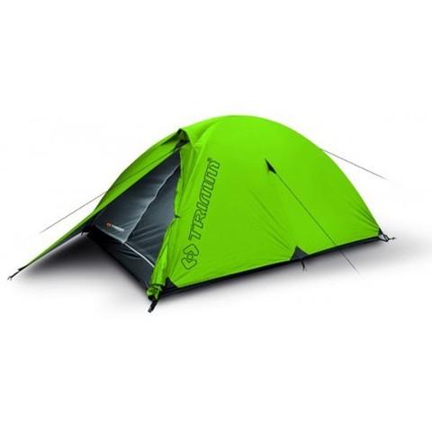 Туристическая палатка Trimm Alfa D, 2+1 (зеленая)