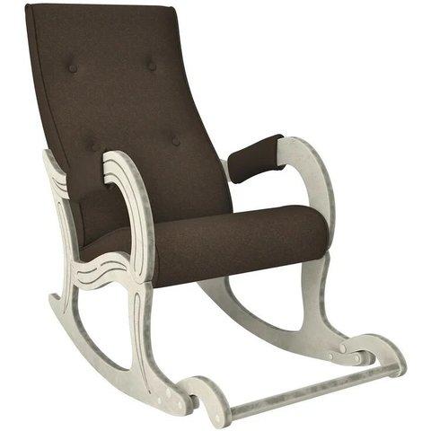 Кресло-качалка Комфорт Модель 707 дуб шампань патина/Malta 15, 013.707
