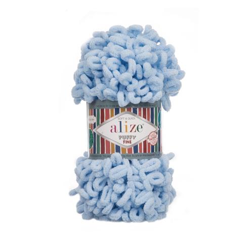 Купить Пряжа Ализе Пуффи Файн Код цвета 218 | Интернет-магазин пряжи «Пряха»