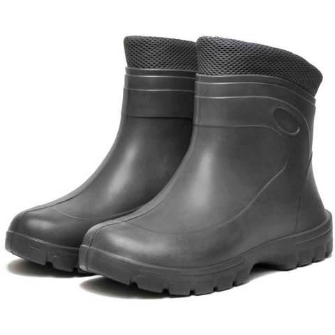 Резиновые ботинки Nordman Fit NEW серые утепленные
