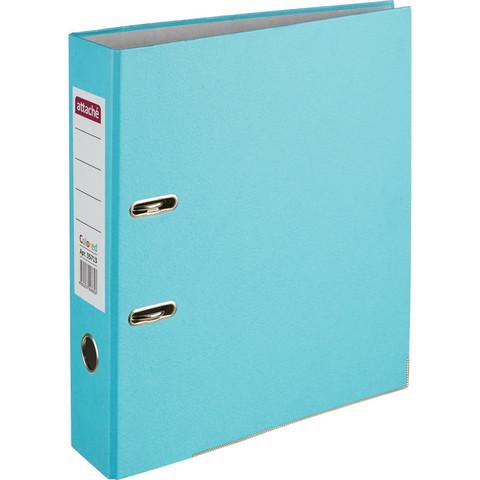 Папка с арочн.мех. ATTACHE Colored light голубой 50 мм