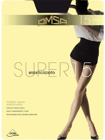 Колготки Super 15 Omsa