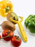 Нож для чистки томатов и киви VICTORINOX жёлтый (7.6079.8)
