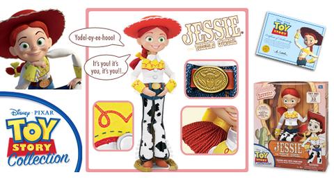История игрушек 3 игрушка коллекционная Джесси — Toy Story 3 Collection Jessie Doll