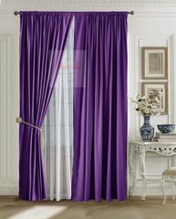 XL-комплект штор Ницца (фиолетовый)