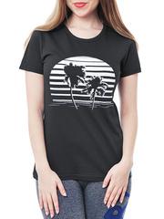 461134-21 футболка женская, черная