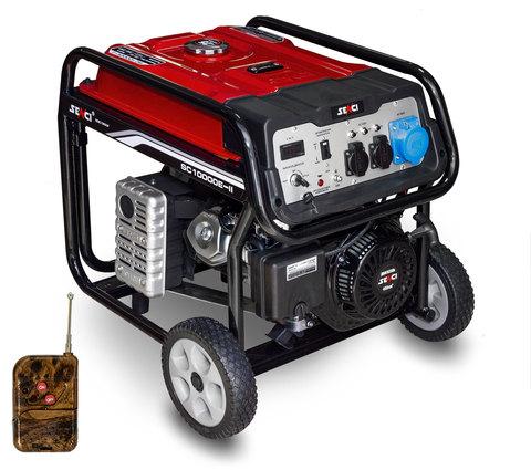 Электрогенератор бензиновый Senci SC10000-II