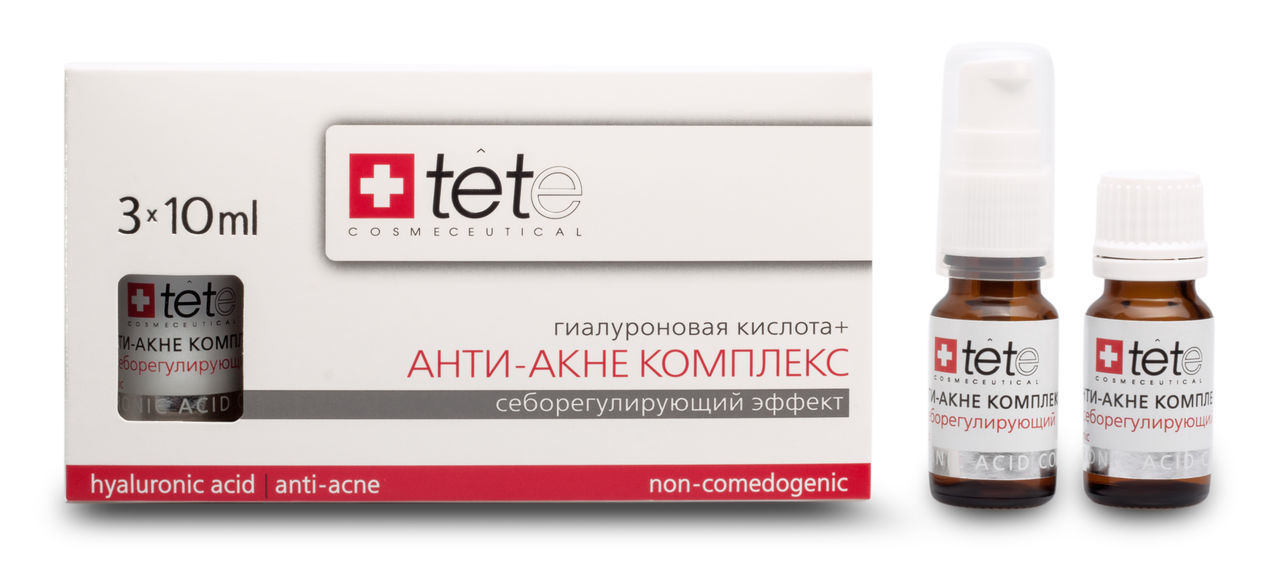 Гиалуроновая кислота + Анти-акне комплекс (Hyaluronic acid + Anti-acne complex)/Tete