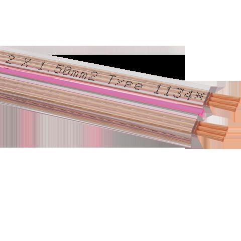 Oehlbach Streamline 15 Speaker Cable 2x1,5mm clear 100m, кабель акустический