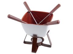 6301 FISSMAN Vanilla Набор для приготовления шоколадного фондю
