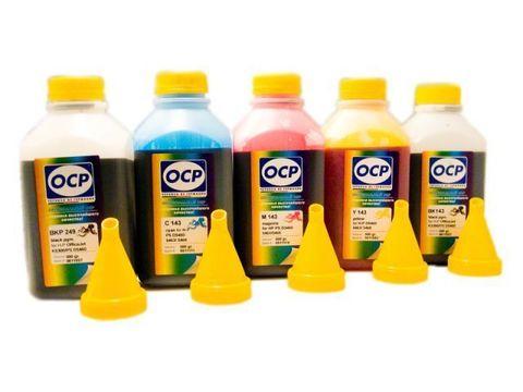 Комплект чернил OCP (BKP249, BK143, C143, M143, Y143) для картриджей HP 178, HP 178XL (5 x 500 мл)