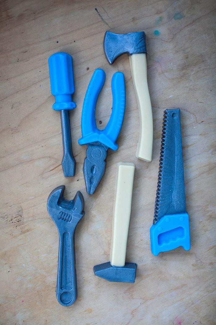 Мыло Инструменты. Форма Молоток