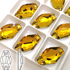 Купить пришивные кристаллы Topaz, Hexagon