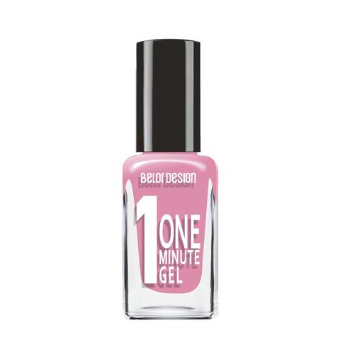 BelorDesign One Minute Gel Лак для ногтей тон 214 сливовый сапфир 10мл