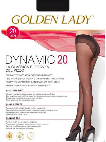 Колготки Dynamic 20 Golden Lady