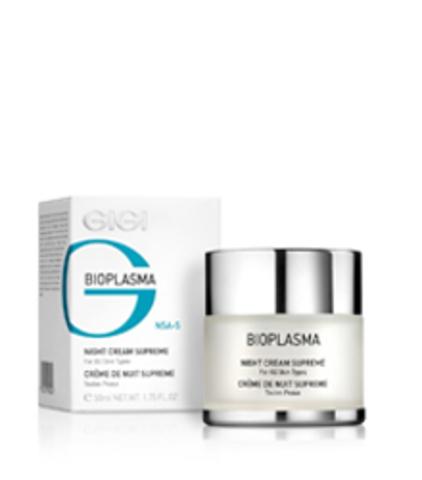 Gigi Bioplasma Night Cream Supreme, Ночной крем суприм, 50 мл.