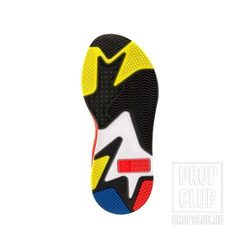 Кроссовки PUMA RS X TOYS Blue Yellow Red