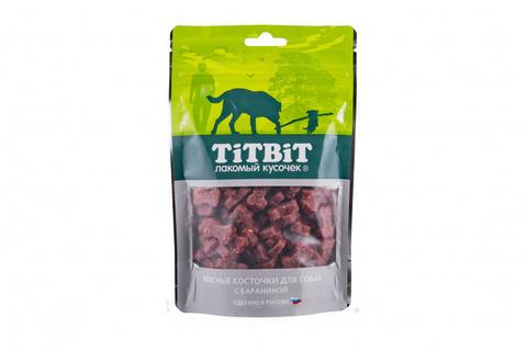 Titbit косточки мясные для собак с бараниной