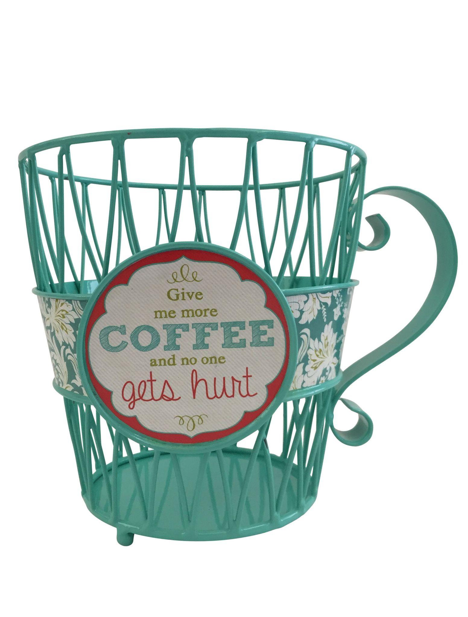 Кухня Корзина для кофейных капсул Boston Warehouse Give Me Coffee korzina-dlya-kofeynyh-kapsul-boston-warehouse-give-me-coffee-ssha-kitay.jpg