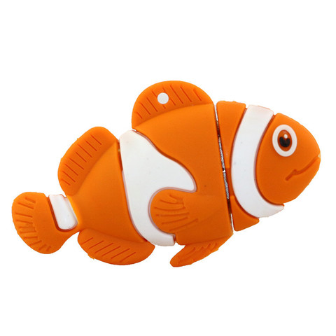 USB-флешка Рыбка оранжевая