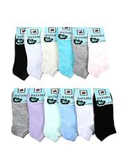 6735 Наташа носки женские 37-41 (12 шт.) цветные