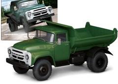 ZIL-MMZ-555 dumper dark green 1:43 DeAgostini Auto Legends USSR Trucks #9
