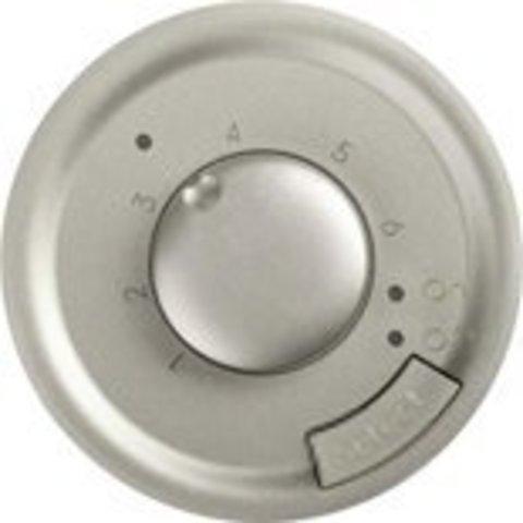 Термостат с датчиком для теплого пола. Цвет Титан. Legrand Celiane (Легранд Селиан). 067405+068549+080251