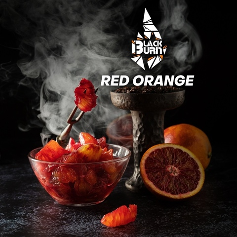 Табак Burn Black Red Orange (Красный апельсин) 200 г
