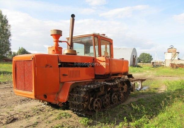 Tractor DT-175 Volgar 1:43 Hachette #24