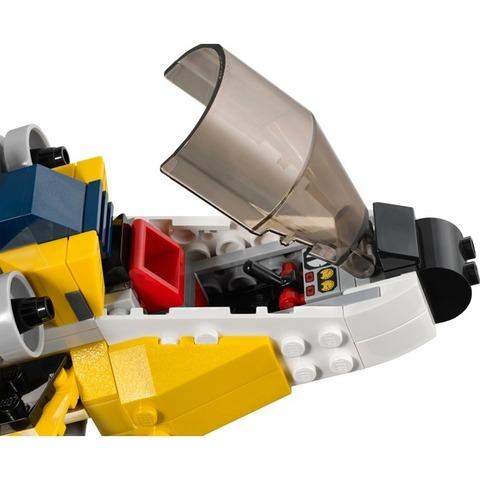 LEGO Creator: Жёлтый скоростный вертолет 31023 — Yellow Racers — Лего Креатор Создатель