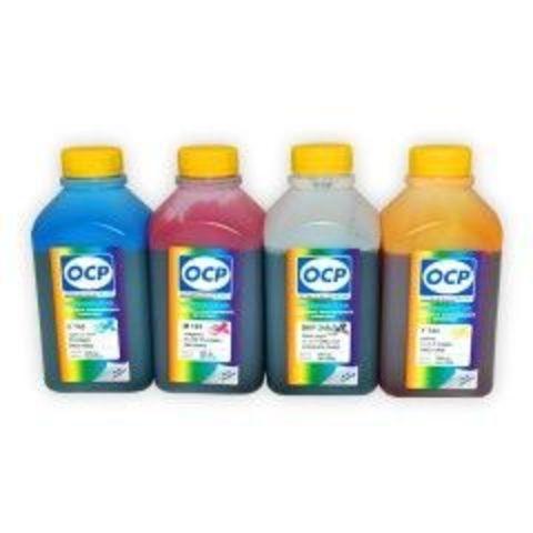 Комплект чернил OCP (BKP249, C143, M143, Y143) для картриджей HP 920, HP 178, HP 901 (4 x 500 мл)