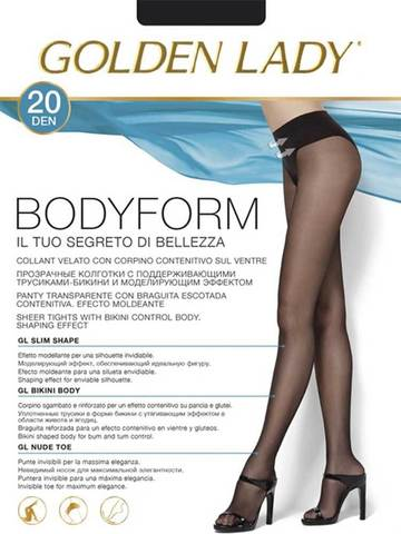 Колготки Body Form 20 Golden Lady