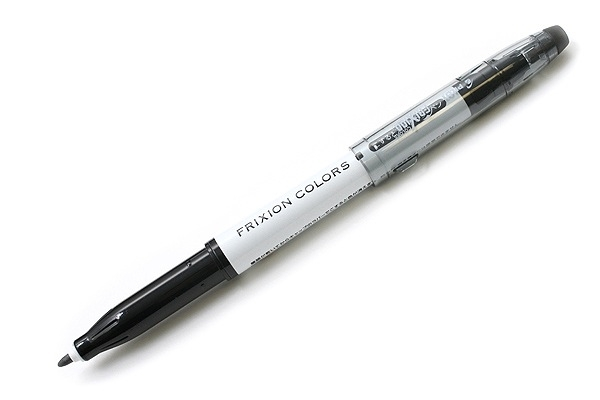 Стираемый маркер Pilot FriXion Colors (B — black — черный)