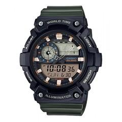 Мужские японские наручные часы Casio AEQ-200W-3A