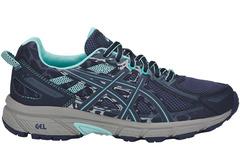 Кроссовки внедорожники Asics Gel Venture 6 Blue женские распродажа