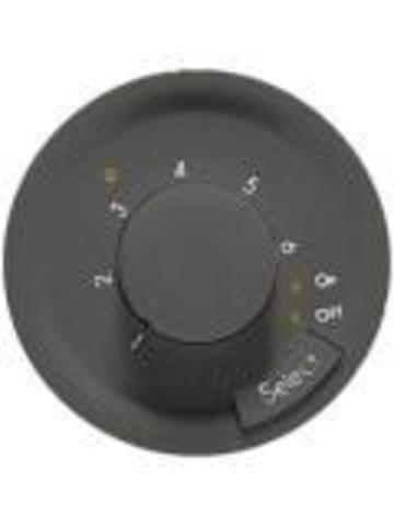 Термостат с датчиком для теплого пола. Цвет Графит. Legrand Celiane (Легранд Селиан). 067405+067989+080251