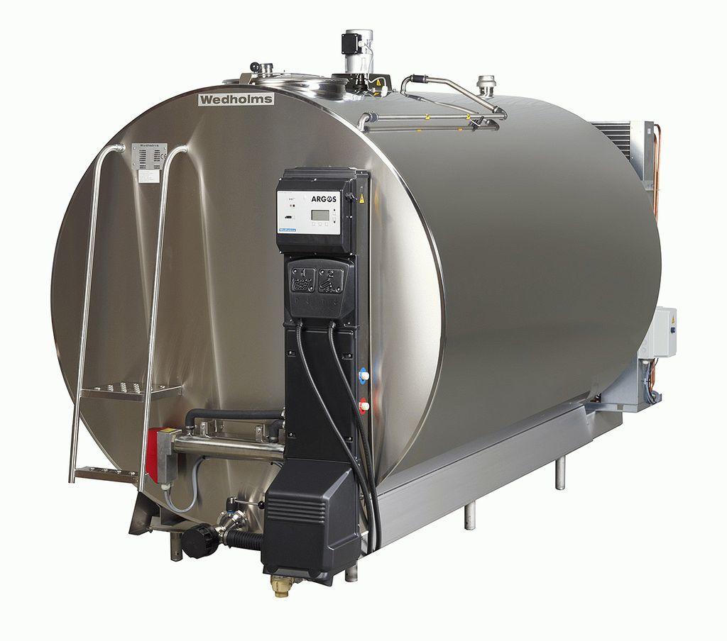 1600 литров | Танк охладитель молока Ведхолмс DF953