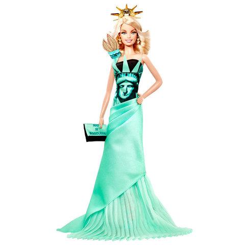 Коллекционная Кукла Барби Статуя Свободы (Statue of Liberty) - Куклы Мира, Mattel
