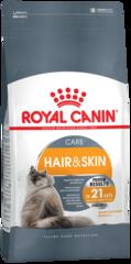 Корм для кошек Royal Canin Hair & Skin Care здоровье шерсти и коже