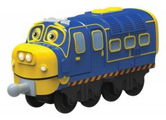 Chuggington Die-Cast Паровозик Брюстер-инженер (LC54119)