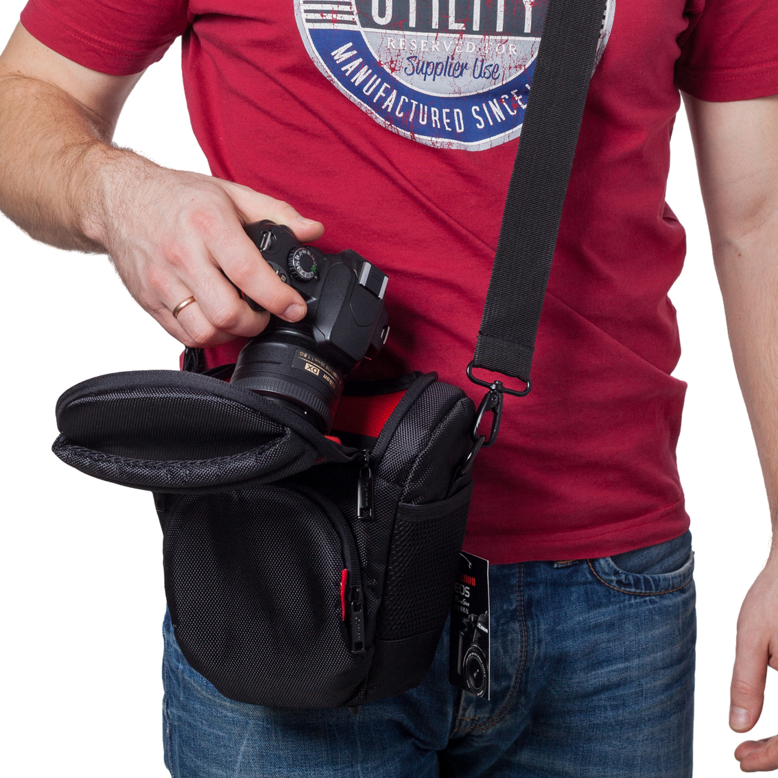 42ecc1cdf049 Сумка для фотоаппарата Canon 1100D • 1200D за 990 руб на ...