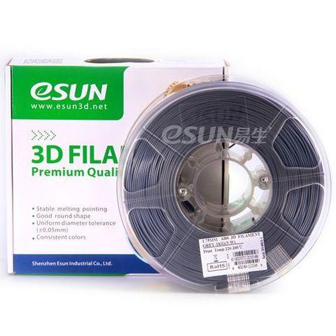 Пластик ABS ESUN 1.75 мм 1кг., серый (ABS175H1)