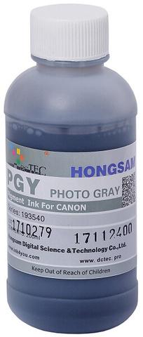 Чернила DCTec PFI-1700PG фото серый (photo grey). 200мл пигмент (193540)